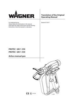 Yorkshire Spray Services Ltd - Wagner GM1 350_530 Manual