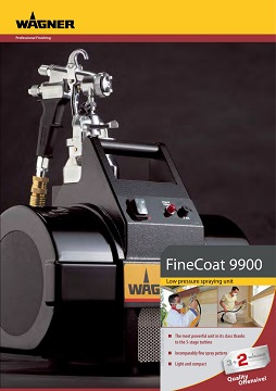 Open Wagner HVLP Fine Coat 9900 Brochure