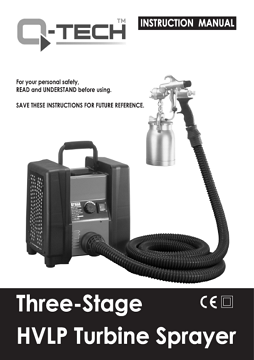 Yorkshire Spray Services Ltd - Q-Tech QT3 Manual