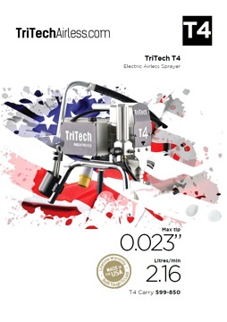 Yorkshire Spray Services Ltd - TriTech T4 Flyer