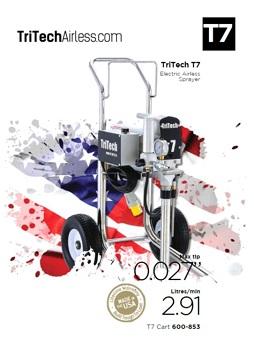 Yorkshire Spray Services Ltd - TriTech T7 Flyer