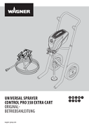 Yorkshire Spray Services Ltd - Wagner Control Pro 350 Extra Trolley Mount Airless Paint Sprayer Manual