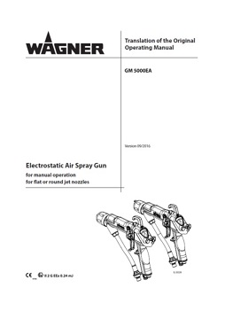 Yorkshire Spray Services Ltd - Wagner GM5000EA Manual
