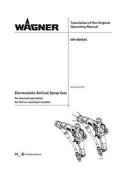 Yorkshire Spray Services Ltd - Wagner GM5000EAC Manual