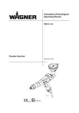 Yorkshire Spray Services Ltd - Wagner PEM X1 Cup Gun Manual