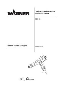 Yorkshire Spray Services Ltd - Wagner PEM X1 Gun Manual jpg