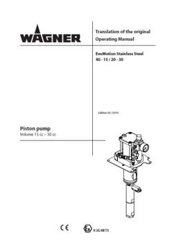 Yorkshire Spray Services Ltd - Wagner EvoMotion Manual