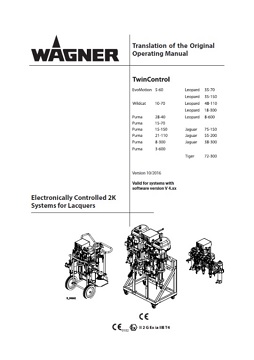 Yorkshire Spray Services Ltd - Wagner Twin Control Manual