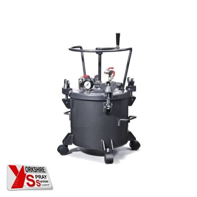 Yorkshire Spray Services Ltd - Q-Tech 10ltr Pressure Pot - Manual Agitation