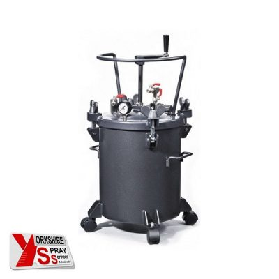 Yorkshire Spray Services Ltd - Q-Tech 20ltr Pressure Pot - Manual Agitation