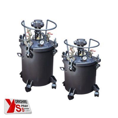 Yorkshire Spray Services Ltd - Q-Tech Pressure Pots - Air Agitation