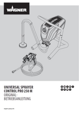 Yorkshire Spray Services Ltd - Wagner Control Pro 250M Skid Mount Airless Paint Sprayer Manual