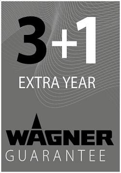Wagner 3 + 1 Year Guarantee