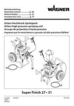 Yorkshire Spray Services Ltd - Wagner Super Finish 27 Manual