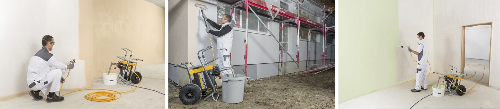 Yorkshire Spray Services Ltd – Wagner Super Finish SF27 Action
