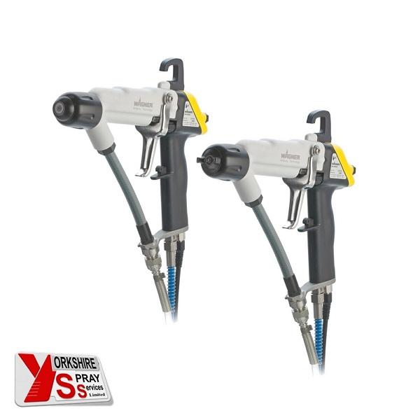 Yorkshire Spray Services Ltd - Wagner GM5000EA Flat & Round Spray