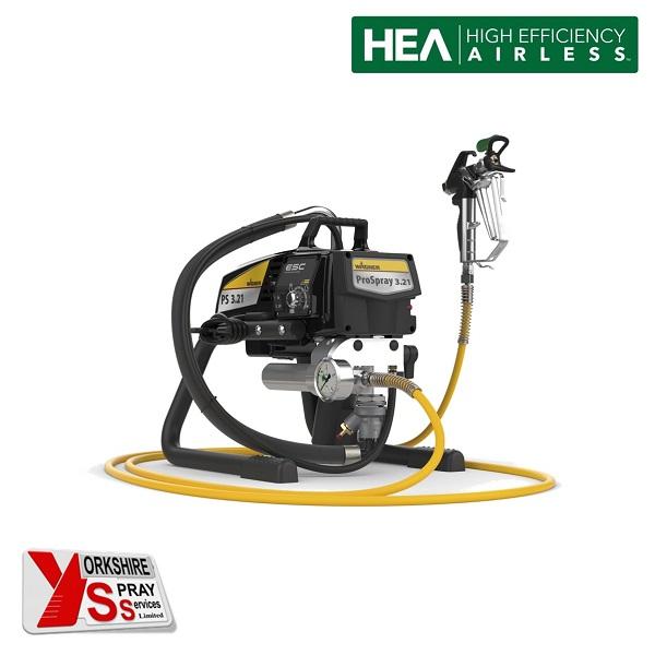 Yorkshire Spray Services Ltd - Wagner Pro Spray 3.21 HEA Airless Paint Sprayer