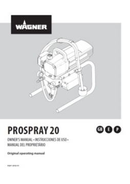 Yorkshire Spray Services Ltd - Wagner ProSpray 20 Manual