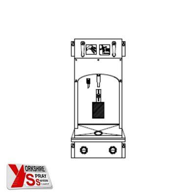 Yorkshire Spray Services Ltd - Unic Spray Gun Cleaner - UGC1006 Compact Solvent